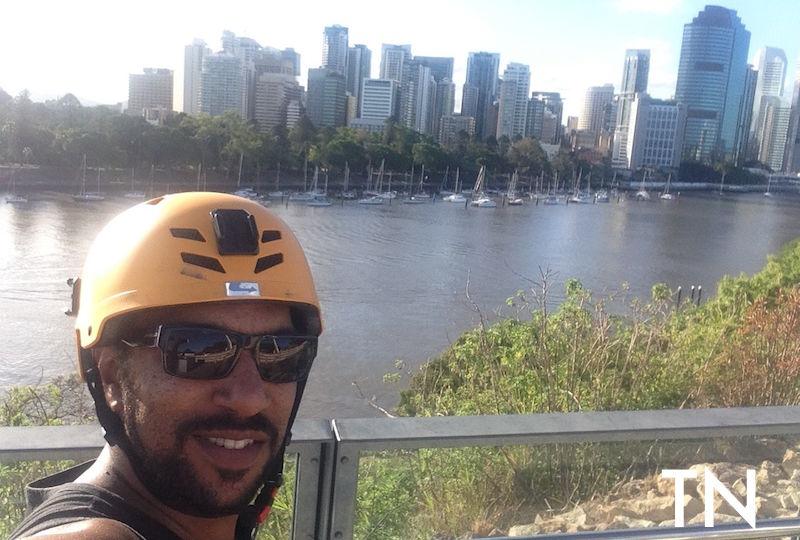 Thiago Nunes em Brisbane