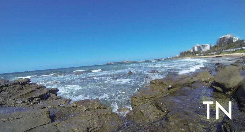 Praia de Moloolaba - pertinho de Brisbane