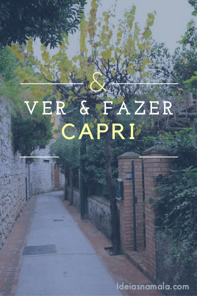 Itália, Capri