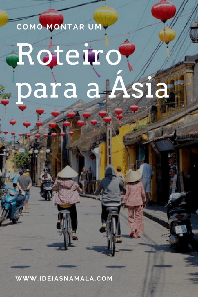 Como montar um roteiro para a Ásia