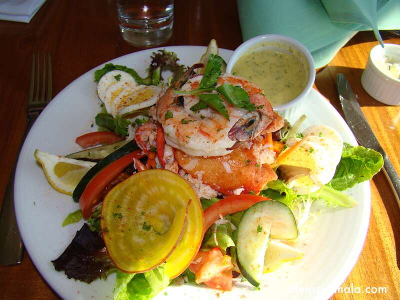 Salada com frutos do Mar - The Galley