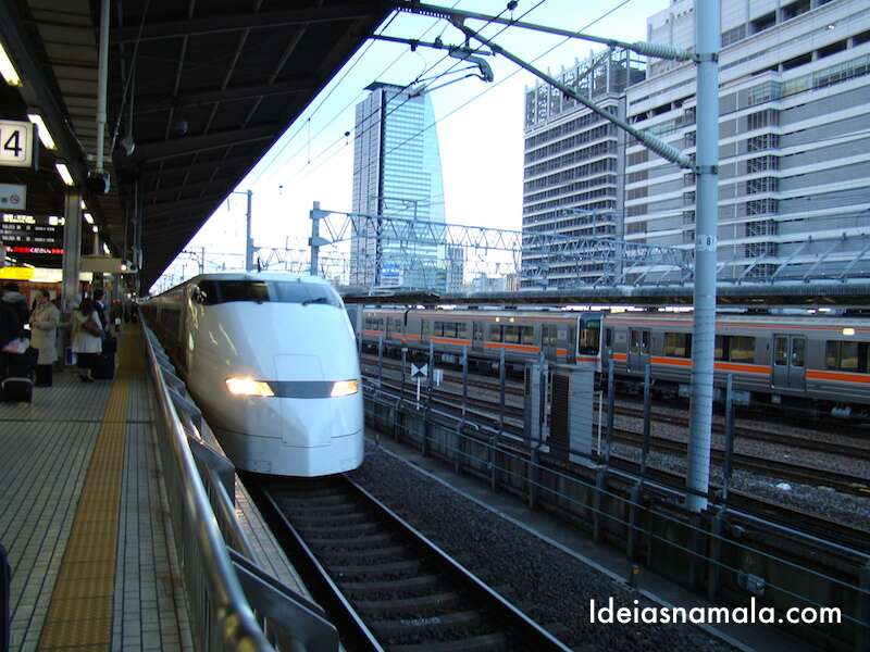 Trem Bala - Japão