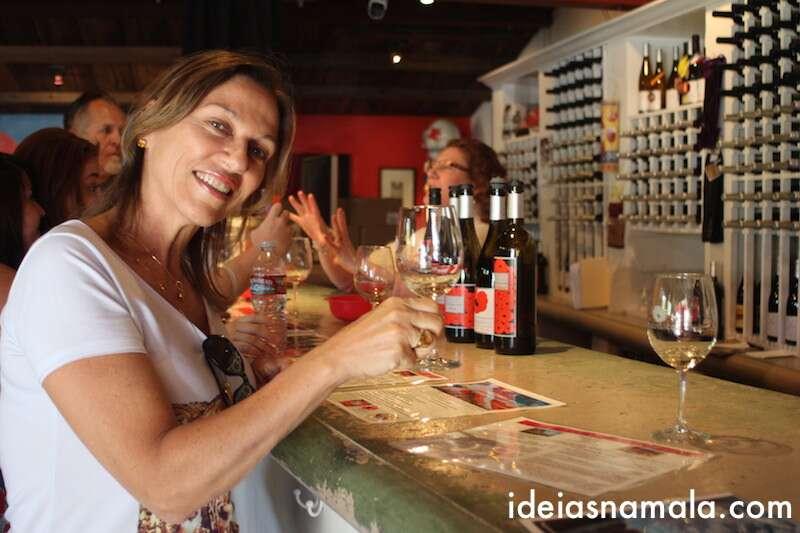 Degustacao de vinhos na Coquelicot
