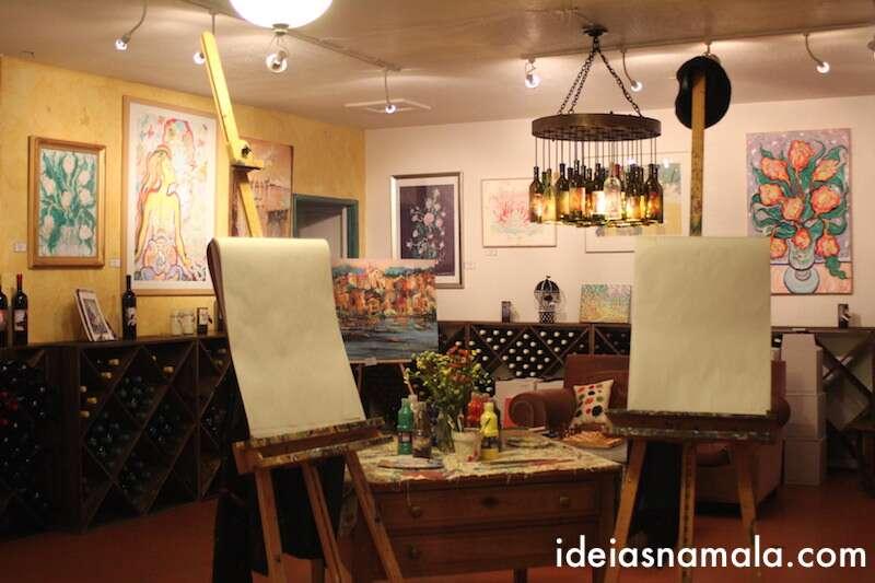 Degustação de vinhos - Artiste