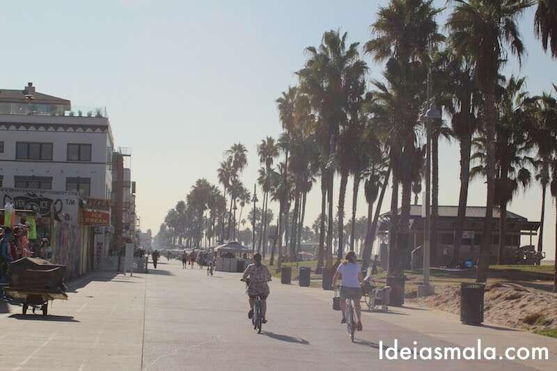 Bicicleta em Santa Monica