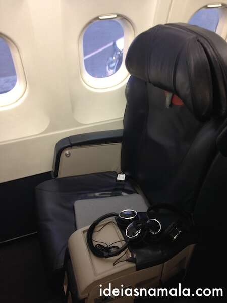 Cadeira da executiva da Avianca