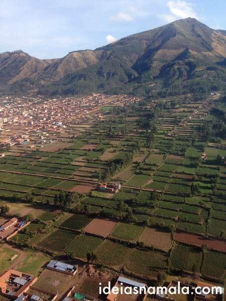 Vôo entre Lima e Cusco