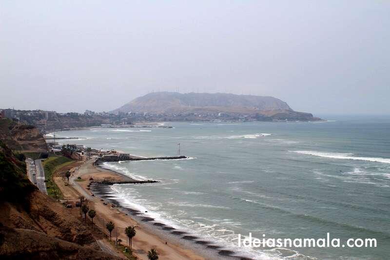 Costa de Lima vista do Lacomar