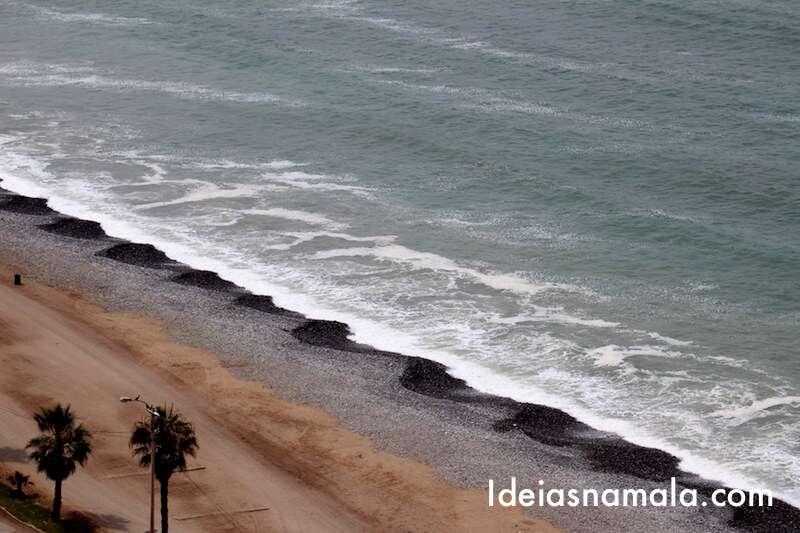 Praia em Miraflores -Lima