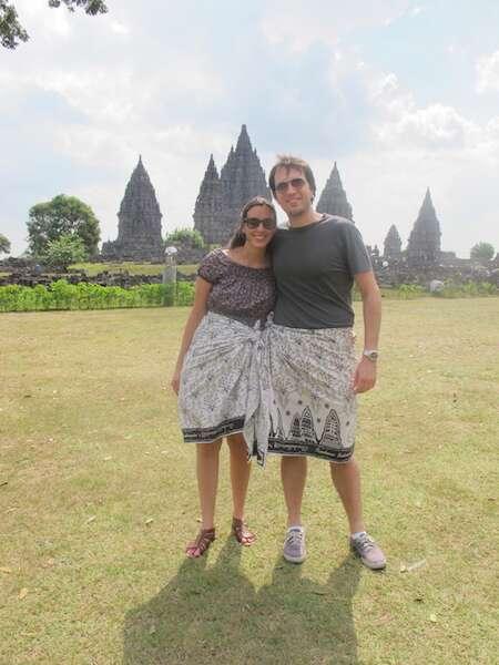 Templo Prabanan - Indonésia