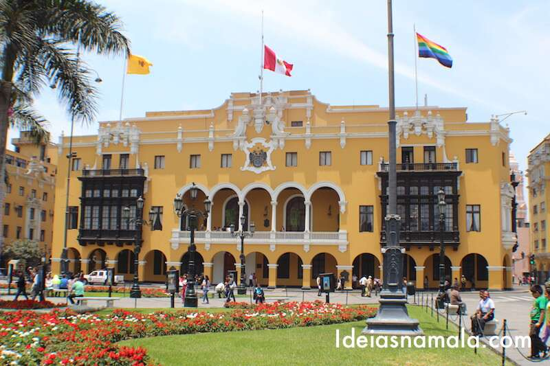 Prefeitura de Lima na Plaza Mayor