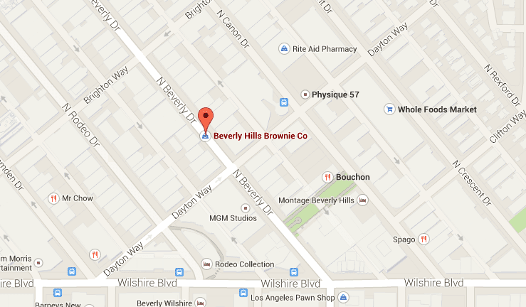 Beverly Hills Brownie - Mapa