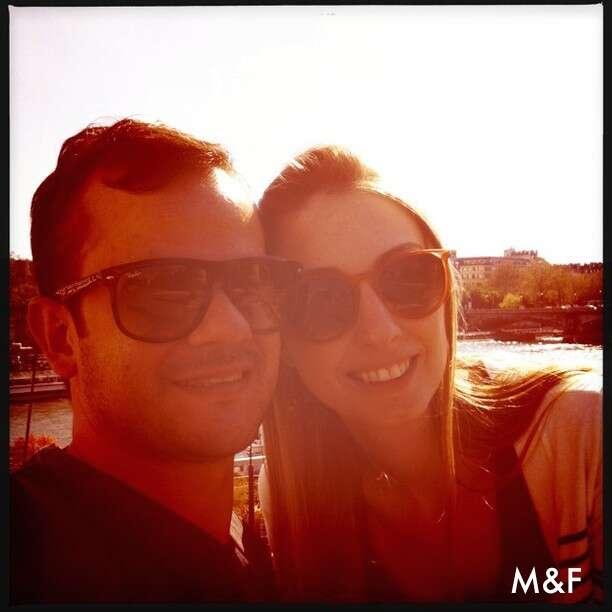 Mari e Flavio em Paris