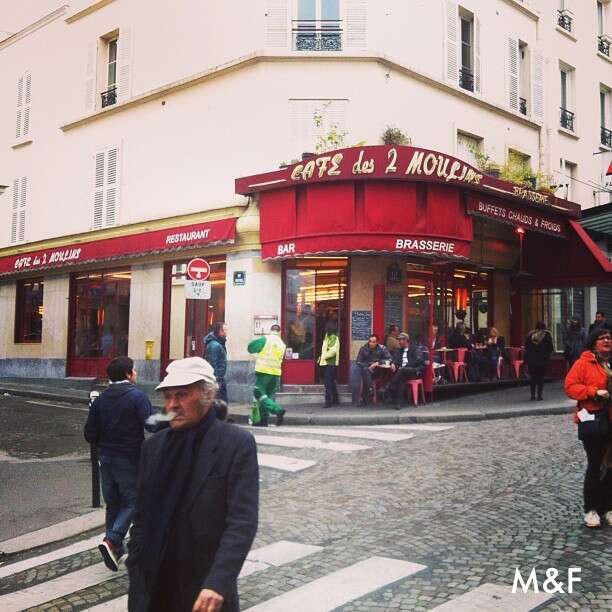 Café des 2 Moulins - Paris