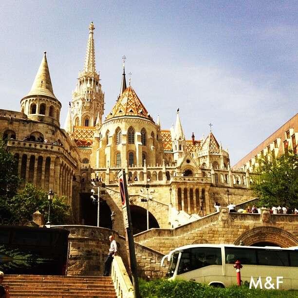 Igreja em Buda - Budapeste