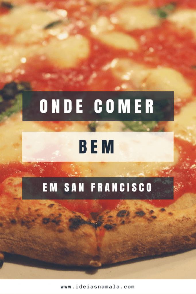 onde comer em SF