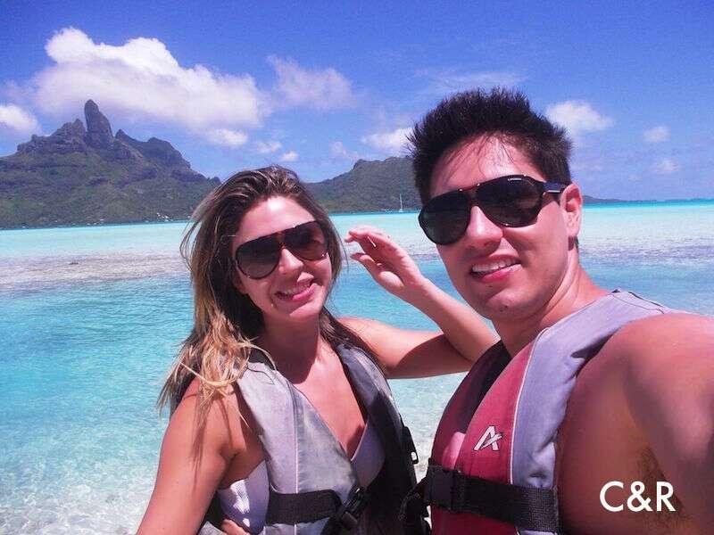 Passeio de Jet Ski - Bora Bora