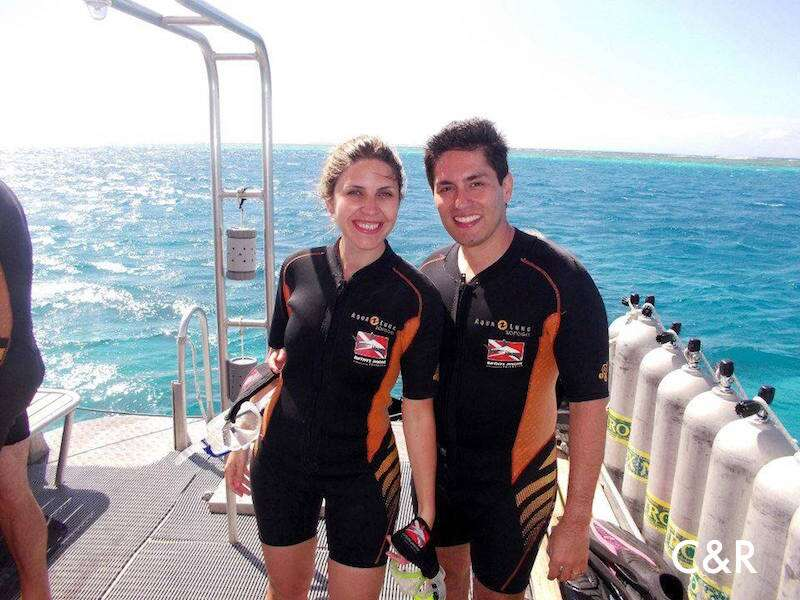 Mergulho com cilindro Morea - Tahiti