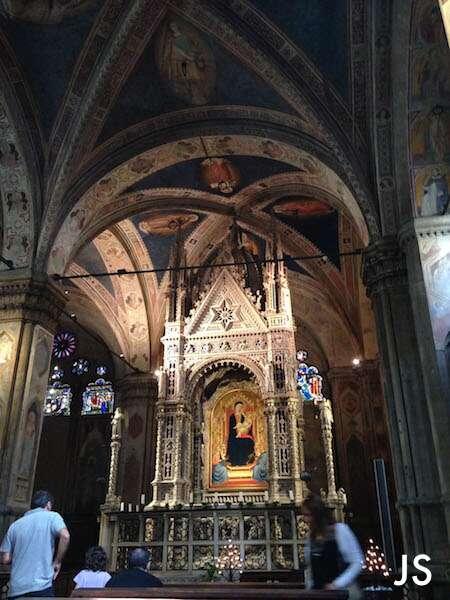 Altar da igreja Orsanmichele