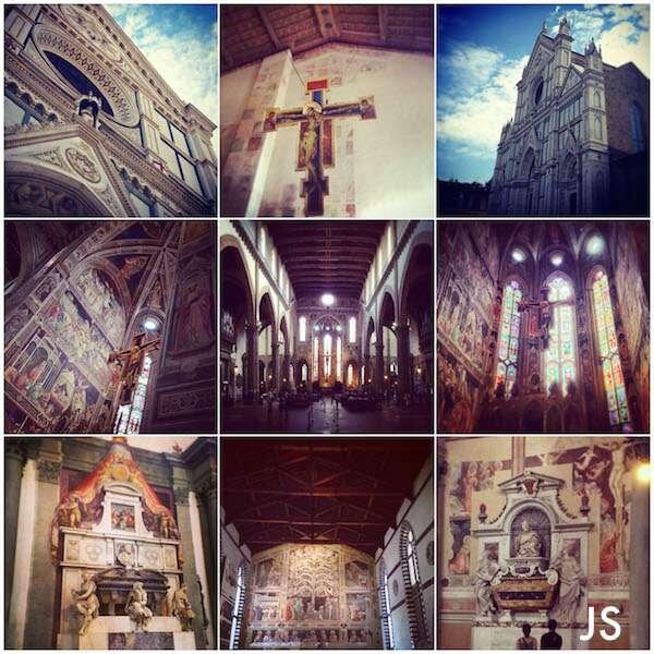 Florença: Basilica di Santa Croce