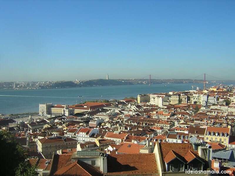 Vista Castelo de São Jorge - Lisboa