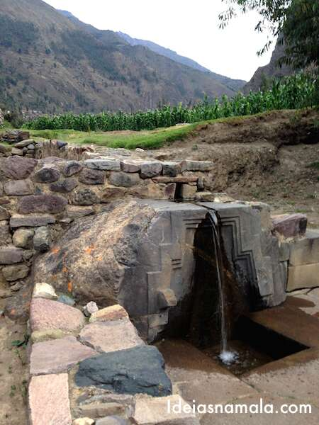 Fonte Inca - Ollantaytambo
