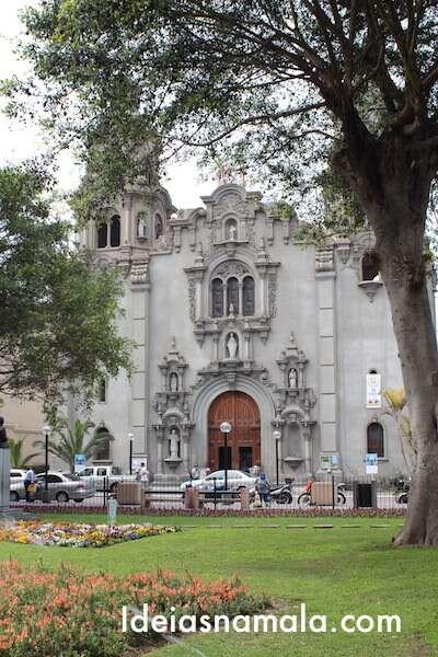 Igreja Matriz Virgen Milagrosa- Lima