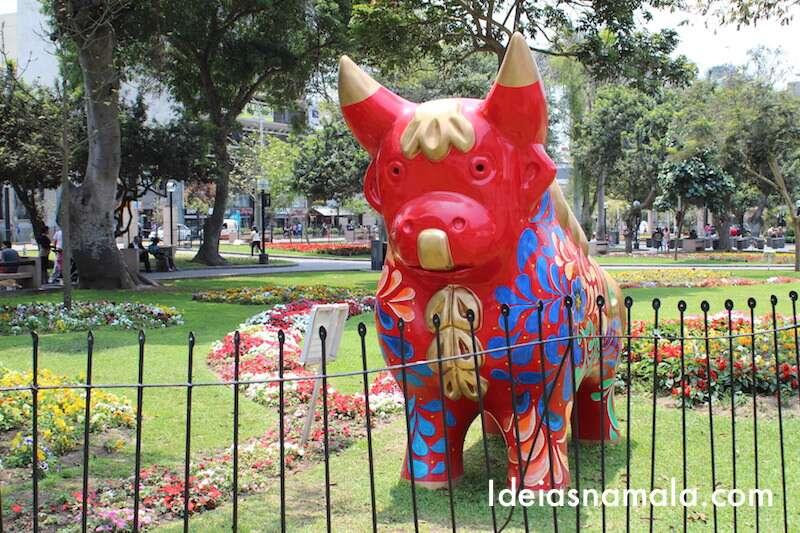 Praça Kennedy em Miraflores