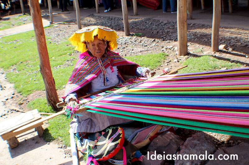 Mercado - Valle Sagrado Peru