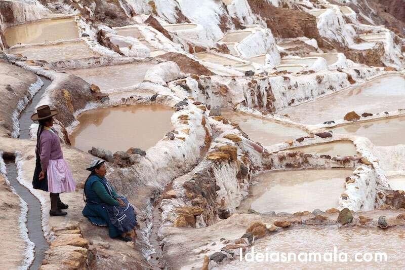 Salineras Maras - Peru