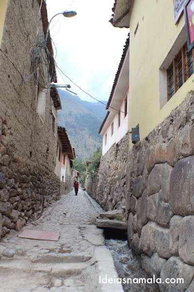 Ruas de Ollantaytambo