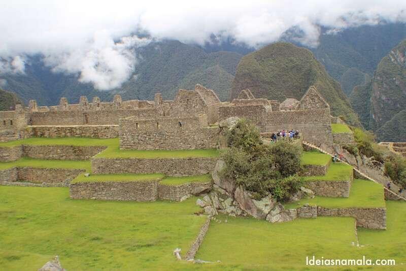 Amanhecer no Machu Picchu