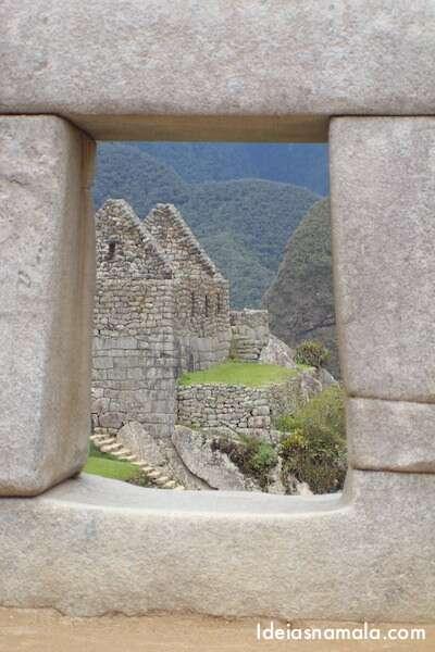 Janela no Machu Pichu