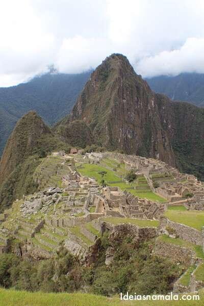 Machu Picchu do alto