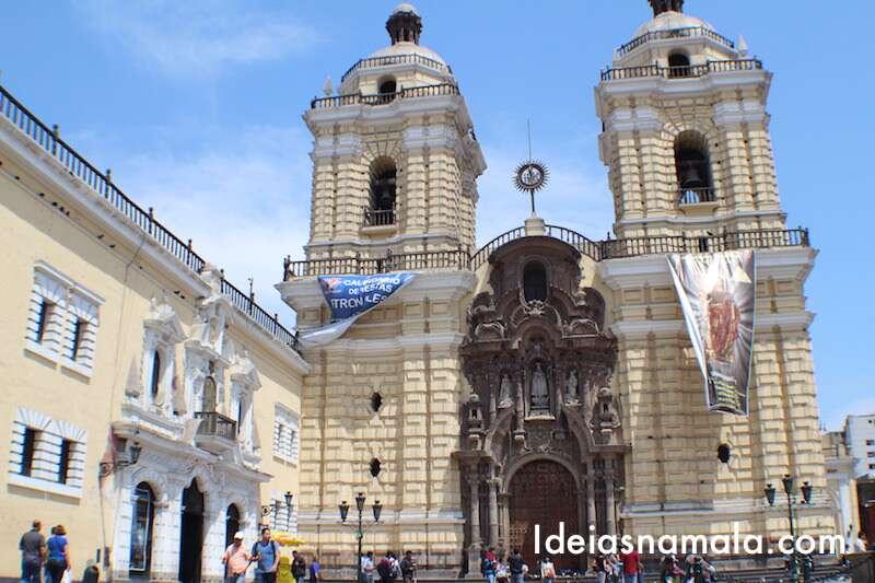 Museu e igreja San Francisco