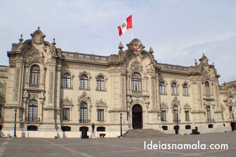 Palácio do governo de Lima - Peru