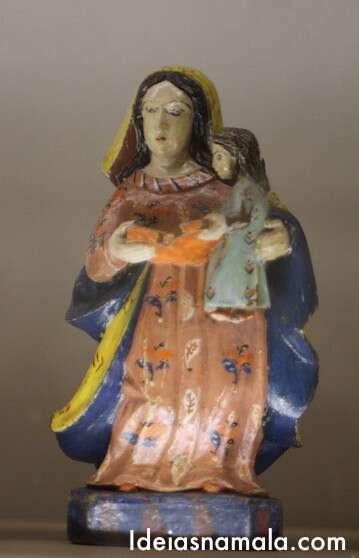 Santa Paulistinha - Museu Santa Ana