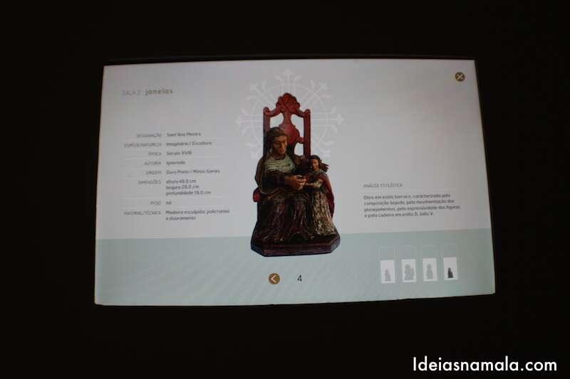 Monitor Interativo - Museu Santa Ana