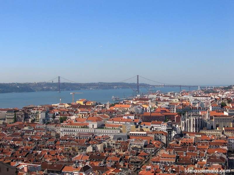 Visto do Panteão - Lisboa