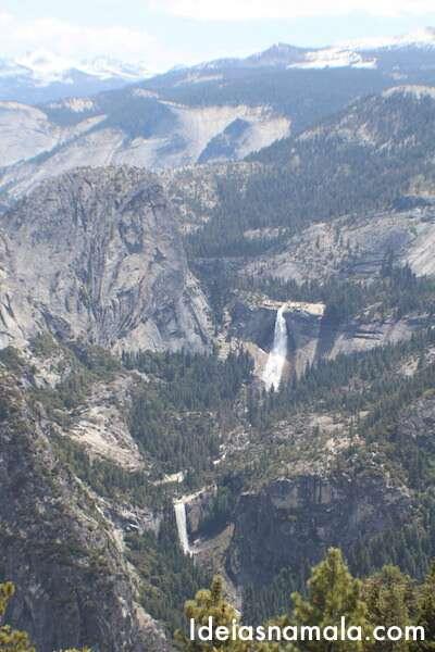 Cachoeiras vistas do Washburn Point - Yosemite