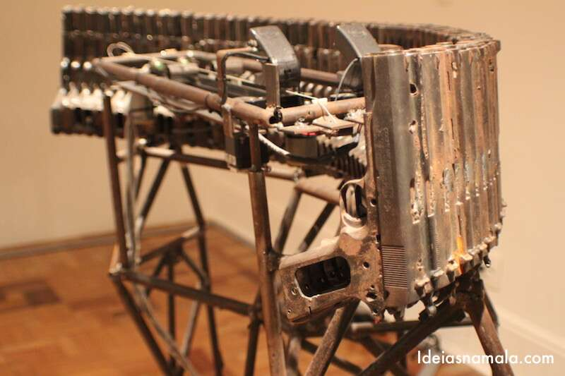 Instrumento de armas de fogo - CCBB