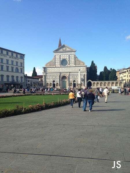 Florença: Piazza Santa Maria Novella