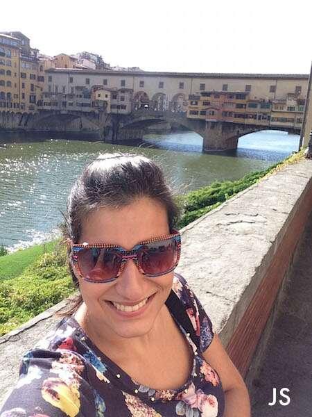 Ju Simões em Florença