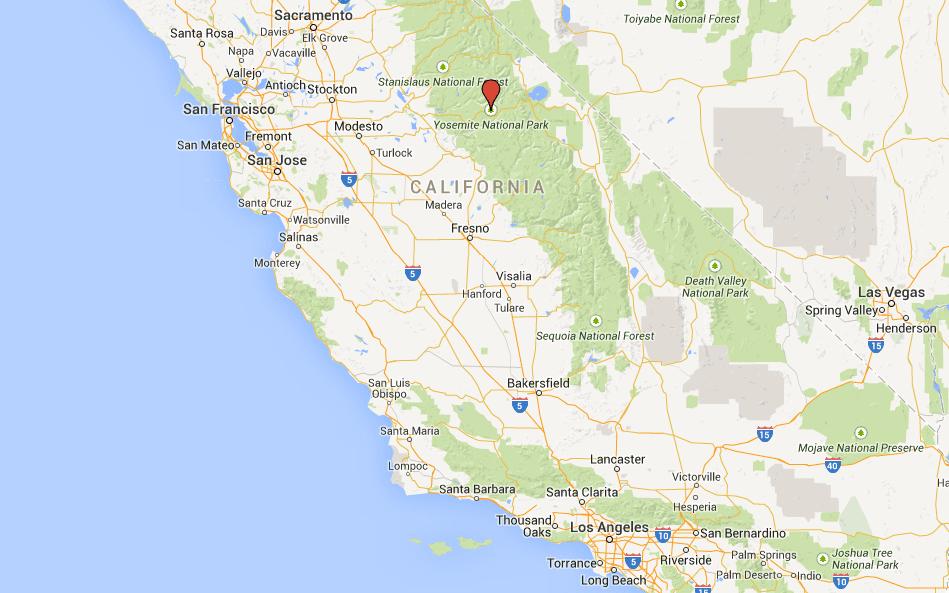 Yosemite no Mapa