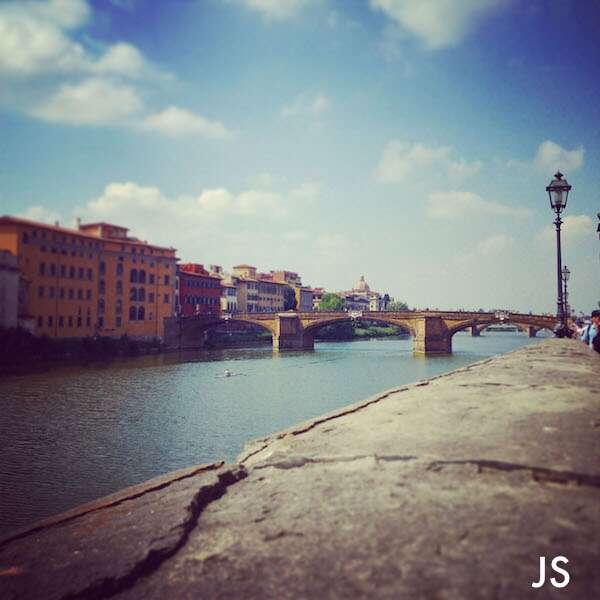 Florenca: Vista Rio Arno