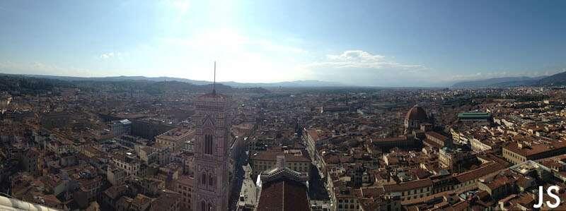 Florença: Vista da cupula Duomo