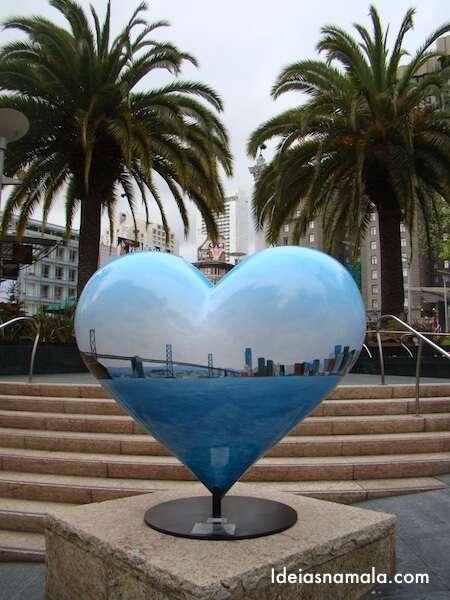 Coração na Union Square