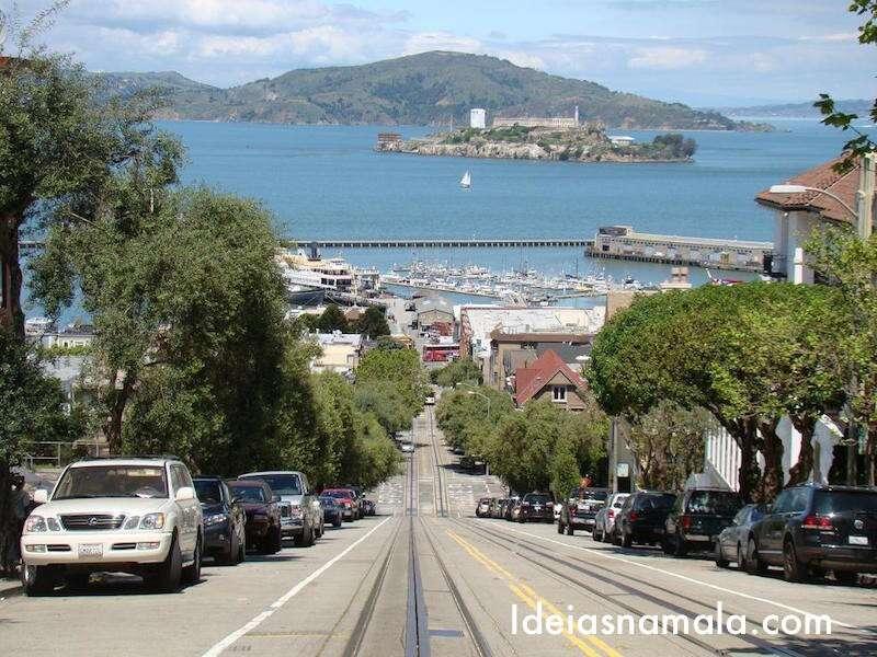 Vista Lombard Street - San Francisco
