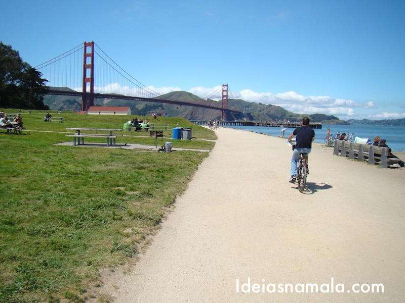 Bicicleta- Golden Gate - San Francisco