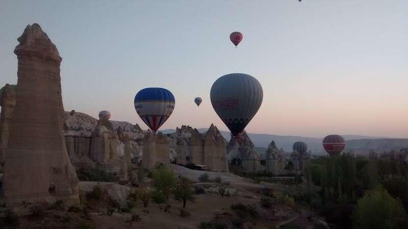 passeio balão Capadocia